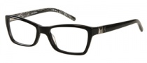 Guess by Marciano GM160 Eyeglasses Eyeglasses - BKWHT: Black White