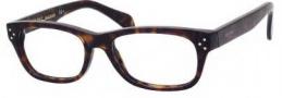 Celine CL 41323 Eyeglasses Eyeglasses - 0086 Dark Havana