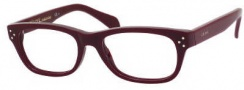 Celine CL 41323 Eyeglasses Eyeglasses - 0LHF Burgundy