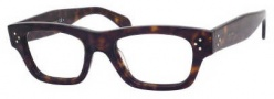 Celine CL 41324 Eyeglasses Eyeglasses - 0086 Dark Havana