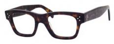 Celine CL 41325 Eyeglasses Eyeglasses - 0086 Dark Havana