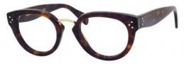 Celine CL 41333 Eyeglasses Eyeglasses - 0086 Dark Havana