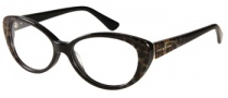 Guess by Marciano GM175 Eyeglasses Eyeglasses - BKLP: Black Leopard