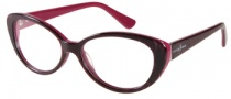 Guess by Marciano GM175 Eyeglasses Eyeglasses - PUR: Purple Tiger