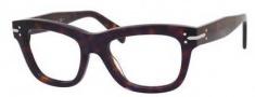 Celine CL 41335 Eyeglasses Eyeglasses - 0086 Dark Havana