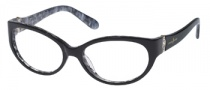 Guess by Marciano GM184 Eyeglasses Eyeglasses - BLKWHT: Black White