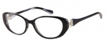 Guess by Marciano GM185 Eyeglasses Eyeglasses - BKWT: Black White