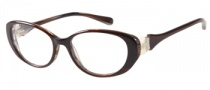 Guess by Marciano GM185 Eyeglasses Eyeglasses - BRNBE: Brown Tan Horn