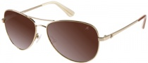 Guess by Marciano GM626 Sunglasses Sunglasses - GDBE-34: Shiny Gold