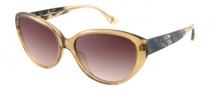 Guess by Marciano GM630 Sunglasses Sunglasses - BE-89: Beige Crystal