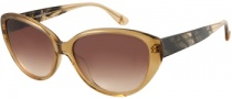 Guess by Marciano GM630 Sunglasses Sunglasses - BRN-34: Brown Crystal
