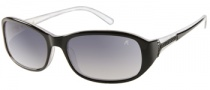 Guess by Marciano GM645 Sunglasses Sunglasses - BLKM-35: Black White