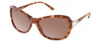 Guess by Marciano GM652 Sunglasses Sunglasses - HNY-1: Honey Tortoise