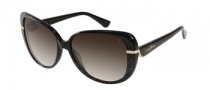 Guess by Marciano GM654 Sunglasses Sunglasses - BKWT-35: Black White