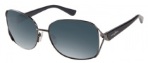 Guess by Marciano GM656 Sunglasses Sunglasses - BL-19: Shiny Gunmetal