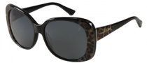 Guess by Marciano GM657 Sunglasses Sunglasses - BKLP-3: Black Leopard