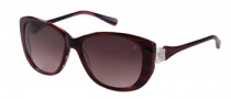 Guess by Marciano GM668 Sunglasses Sunglasses - BU-67: Burgundy