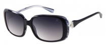 Guess by Marciano GM669 Sunglasses Sunglasses - BKWT-35: Black White