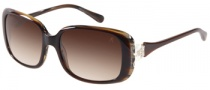 Guess by Marciano GM669 Sunglasses Sunglasses - BRNBE-34: Brown Tan