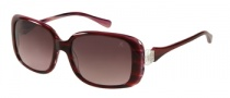Guess by Marciano GM669 Sunglasses Sunglasses - BU-67: Burgundy