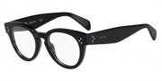 Celine CL 41342 Eyeglasses Eyeglasses - 0807 Black