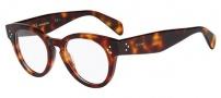 Celine CL 41342 Eyeglasses Eyeglasses - 005D Havana