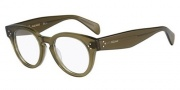 Celine CL 41342 Eyeglasses Eyeglasses - 0QP4 Military Green