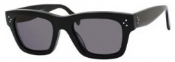 Celine CL 41732/S Sunglasses Sunglasses - 0807 Black / Smoke Polarized Lens
