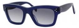 Celine CL 41732/S Sunglasses Sunglasses - 0M23 Blue / Grey Gradient