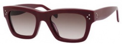 Celine CL 41732/S Sunglasses Sunglasses - 0LHF Burgundy / Brown Gradient Lens