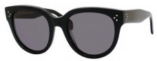 Celine CL 41755/S Sunglasses Sunglasses - 0807 Black / Smoke Polarized Lens