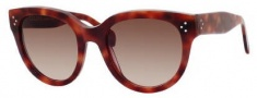 Celine CL 41755/S Sunglasses Sunglasses - 0VMB Havana / Brown Gradient Lens