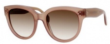 Celine CL 41755/S Sunglasses Sunglasses - 0GKY Brown / Brown Gray Gradient Lens