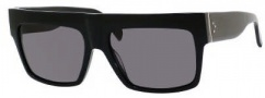 Celine CL 41756/S Sunglasses Sunglasses - 0807 Black / Smoke Polarized Lens