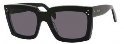 Celine CL 41800/S Sunglasses Sunglasses - 0807 Black / Dark Grey Lens