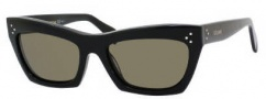 Celine CL 41802/S Sunglasses Sunglasses - 0807 Black / Brown Lens