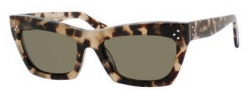 Celine CL 41802/S Sunglasses Sunglasses - 03Y7 Havana Honey / Brown Lens