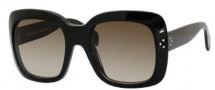 Celine CL 41803/S Sunglasses Sunglasses - 0807 Black / Brown Gradient Lens