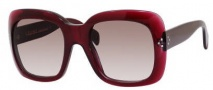 Celine CL 41803/S Sunglasses Sunglasses - 0D6W Wine / Brown Gradient Lens