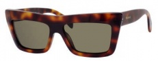 Celine CL 41804/S Sunglasses Sunglasses - 005L Havana / Brown Lens