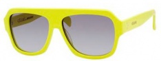 Celine CL 41806/S Sunglasses Sunglasses - 067U Yellow Fluorescent / Gray Gradient Lens