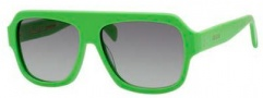 Celine CL 41806/S Sunglasses Sunglasses - 099U Cario Green