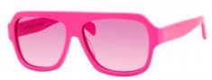 Celine CL 41806/S Sunglasses Sunglasses - 067T Pink Fluorescent / Pink Gradient Lens
