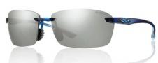 Smith Optics Trailblazer Sunglasses Sunglasses - Midnight Blue / Chromapop Polarized Platinum