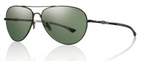 Smith Optics Audible Sunglasses Sunglasses - Matte Black / Chromapop Polarized Gray Green