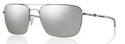 Smith Optics Nomad Sunglasses Sunglasses - Matte Silver / Chromapop Polarized Platinum