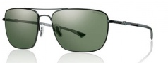 Smith Optics Nomad Sunglasses Sunglasses - Matte Black / Chromapop Polarized Gray Green