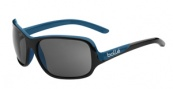 Bolle Kassia Sunglasses Sunglasses - 11749 Shiny Black / Blue / Polarized TNS