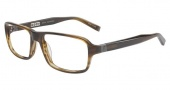 John Varvatos V340 Eyeglasses Eyeglasses - Olive Horn