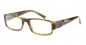 John Varvatos V341 Eyeglasses Eyeglasses - Olive Horn